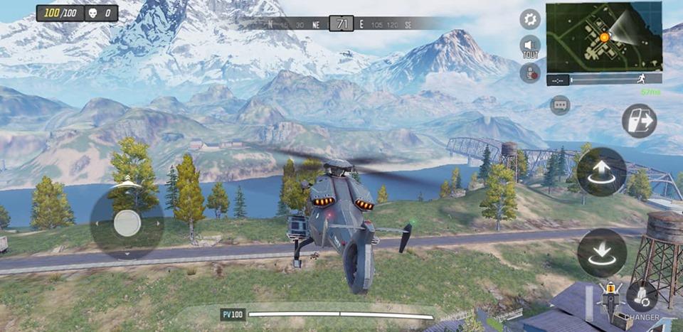 COD MOBILE - battle royale et véhicule