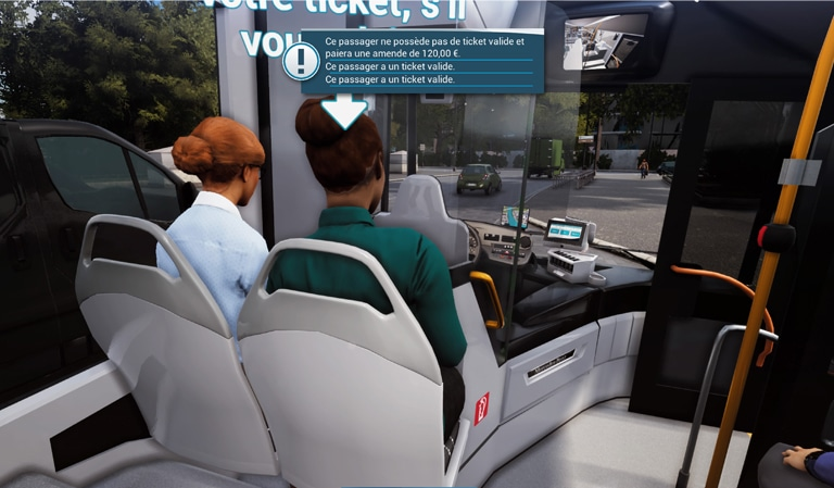 AMENDE dans bus simulator