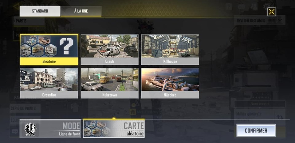 NUKETOWN dans call of duty smartphone