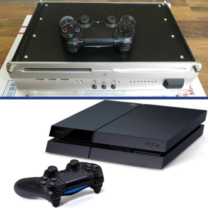 Kit de développement playstation 4 contre console ps4