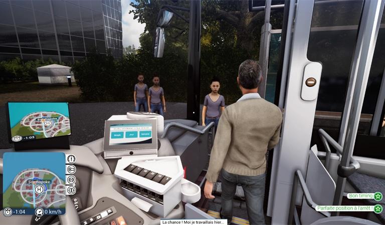 Attaque des clones dans bus simulator