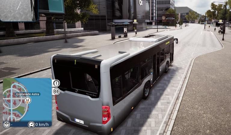 MERCEDES CITARO dans bus simulator