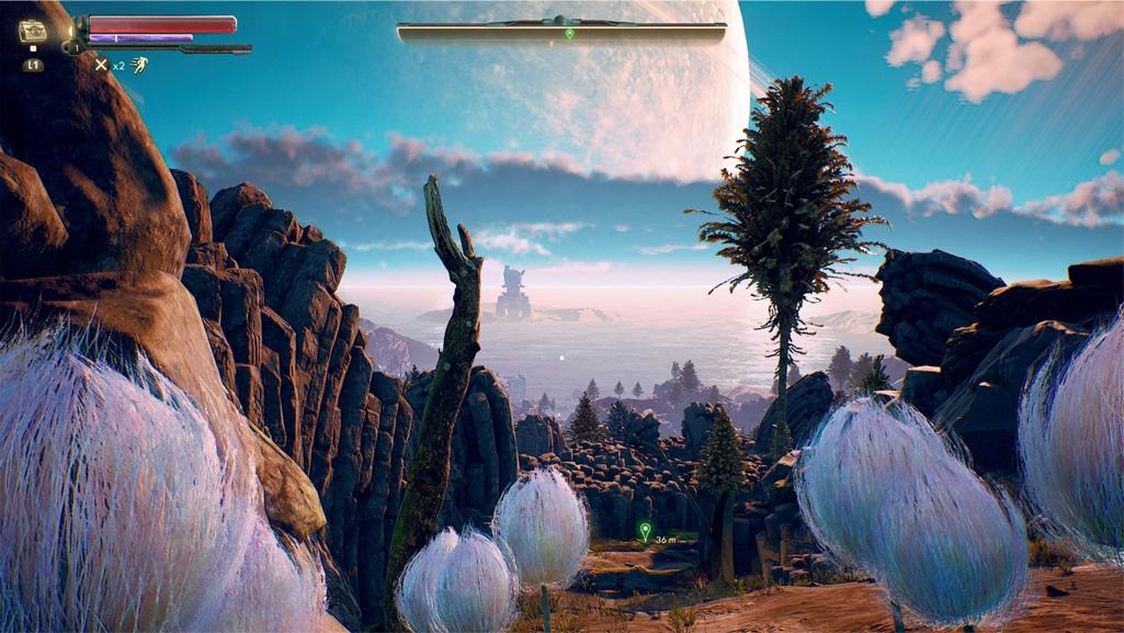 Les paysages de The Outer Worlds sont vraiment réussit