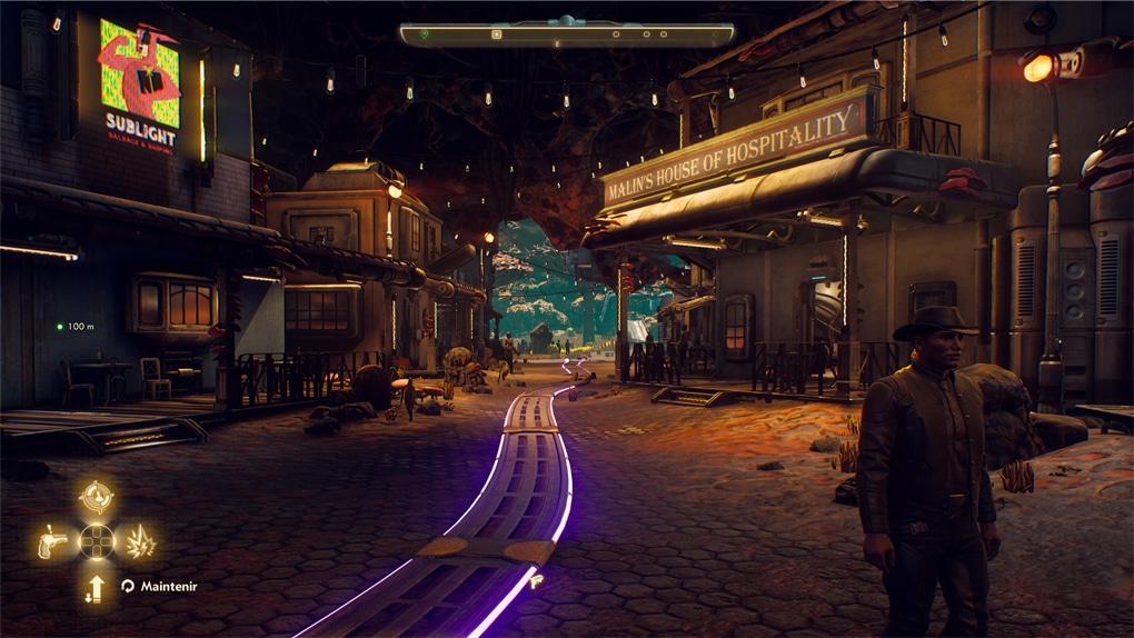 Nouvelle ville dans outer worlds
