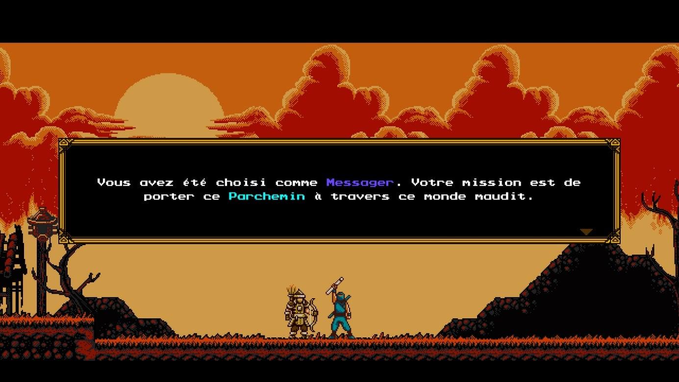 The Messenger : Une histoire sur switch et PS4