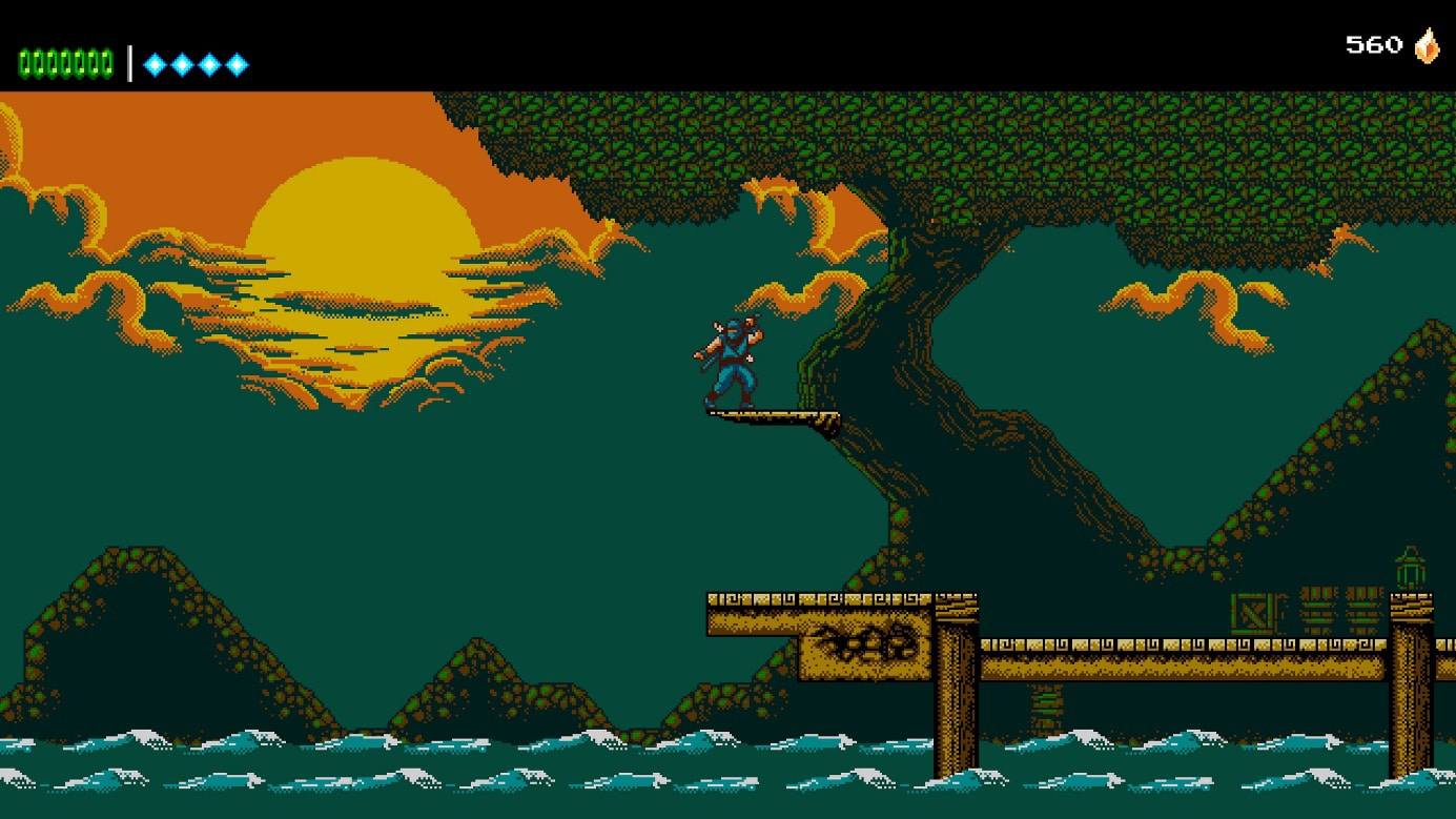 The Messenger s'affiche sur playstation 4