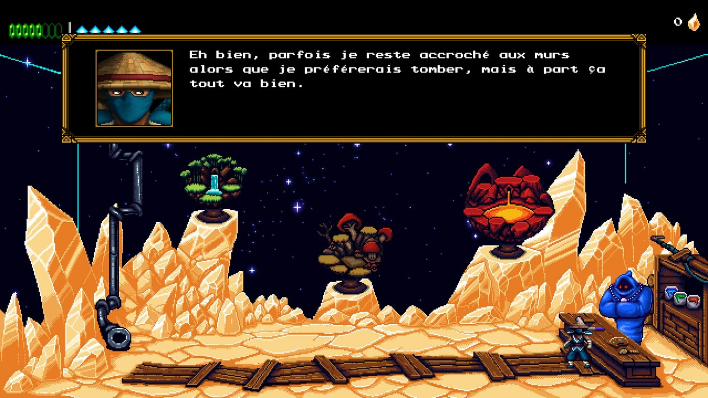 The Messenger Test sur switch