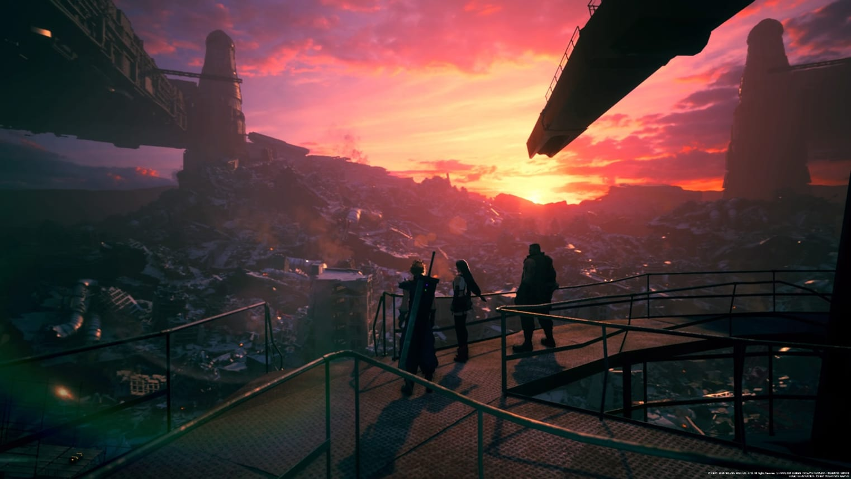 Final Fantasy VII remake : C'est beau !