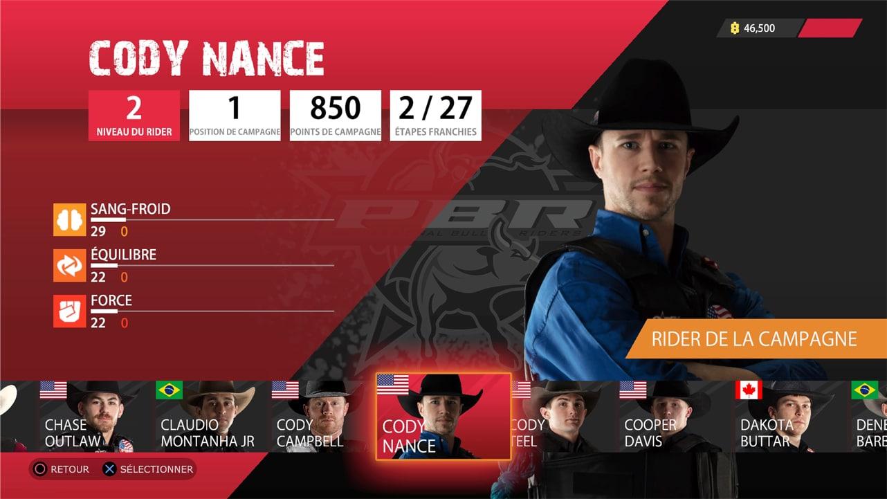 Cowboy dans le test de 8 to glory