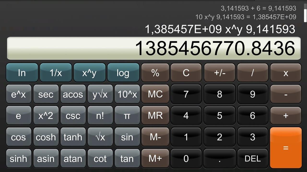 Calculator pour Nintendo Switch